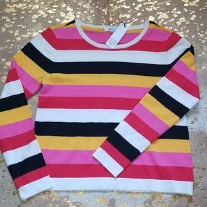 BB Dakota Sunset Dreams Striped Sweater